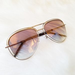 Marc Jacob's Mirrored Lense Sunglasses